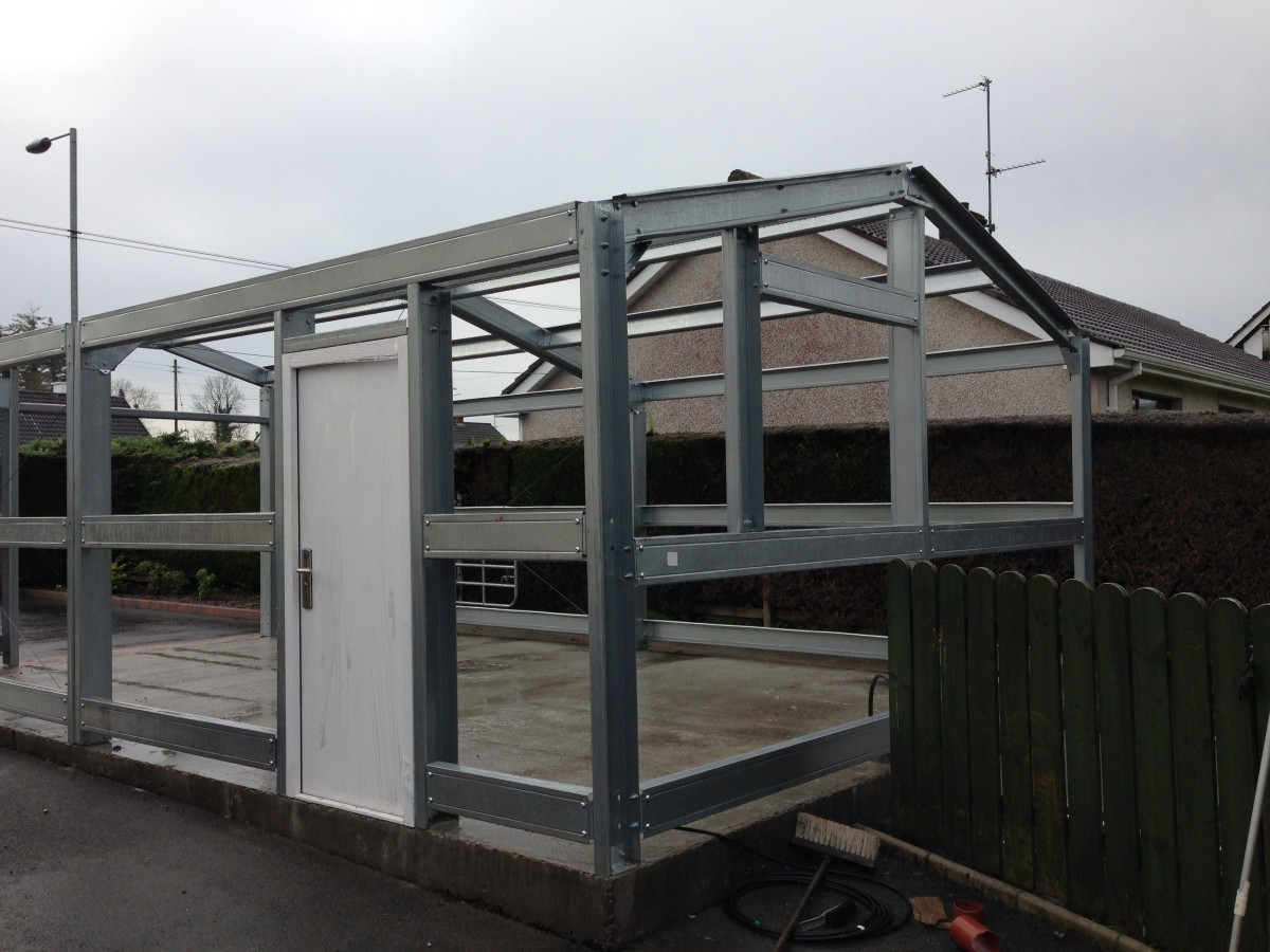 Steel Framed Sheds : What are the benefits of cold rolled steel framed
