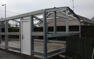 Domestic Garages (Steel Clad Buildings)