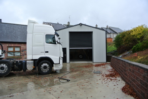 lorry commercial building