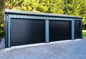 Steel Double Garage