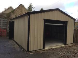 mushroom steel garage